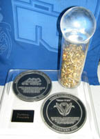 <i>FIRST</i> 1992 MAIZE CRAZE&#0153; Finalist Trophy