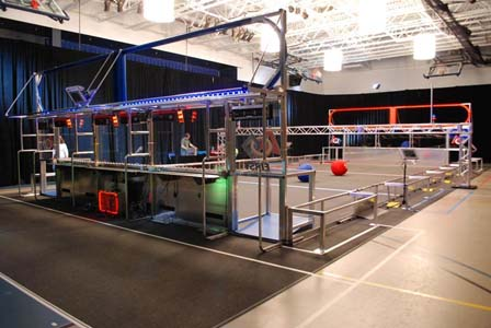 2014 FIRST Robotics Competition Aerial Assist field