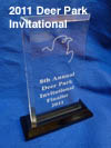 Team 358 FRC 2011 Deer Park Invitational-Finalist Award