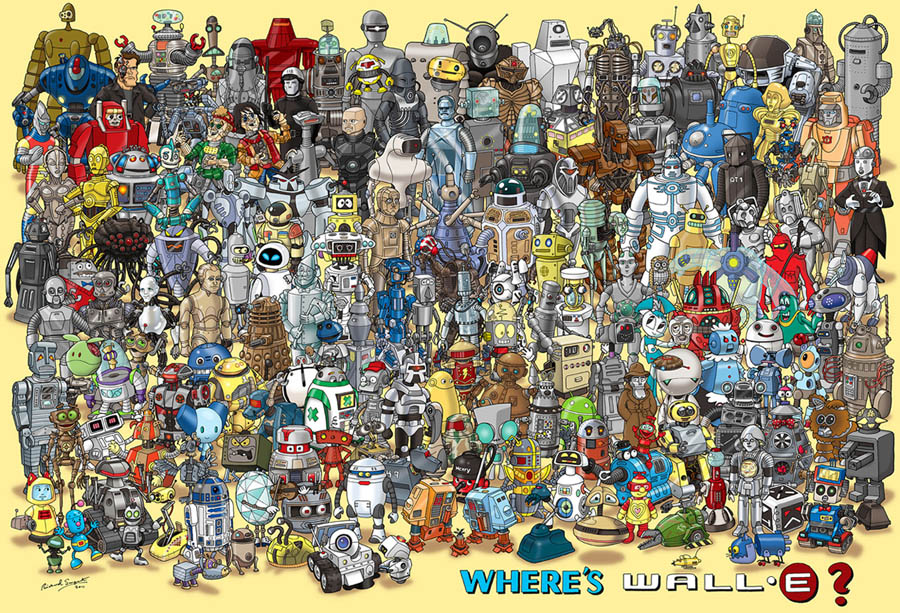 hopewell studios wheres wall-e